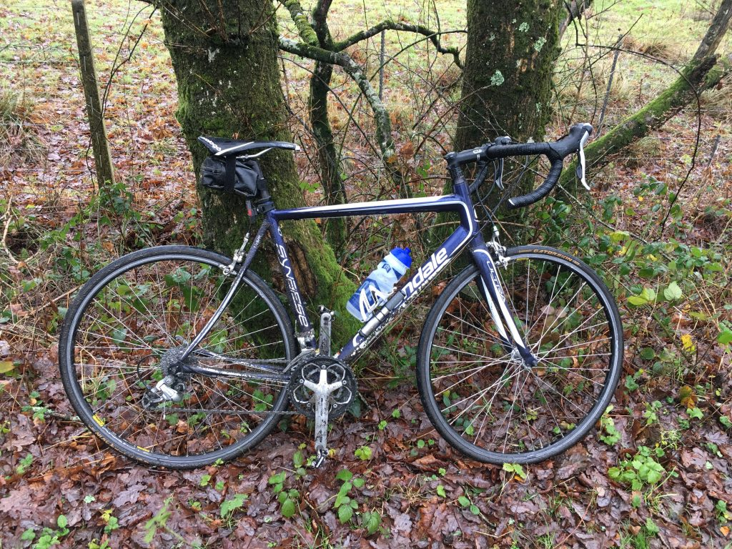 Cannondale Road Bike on Tarka Trail