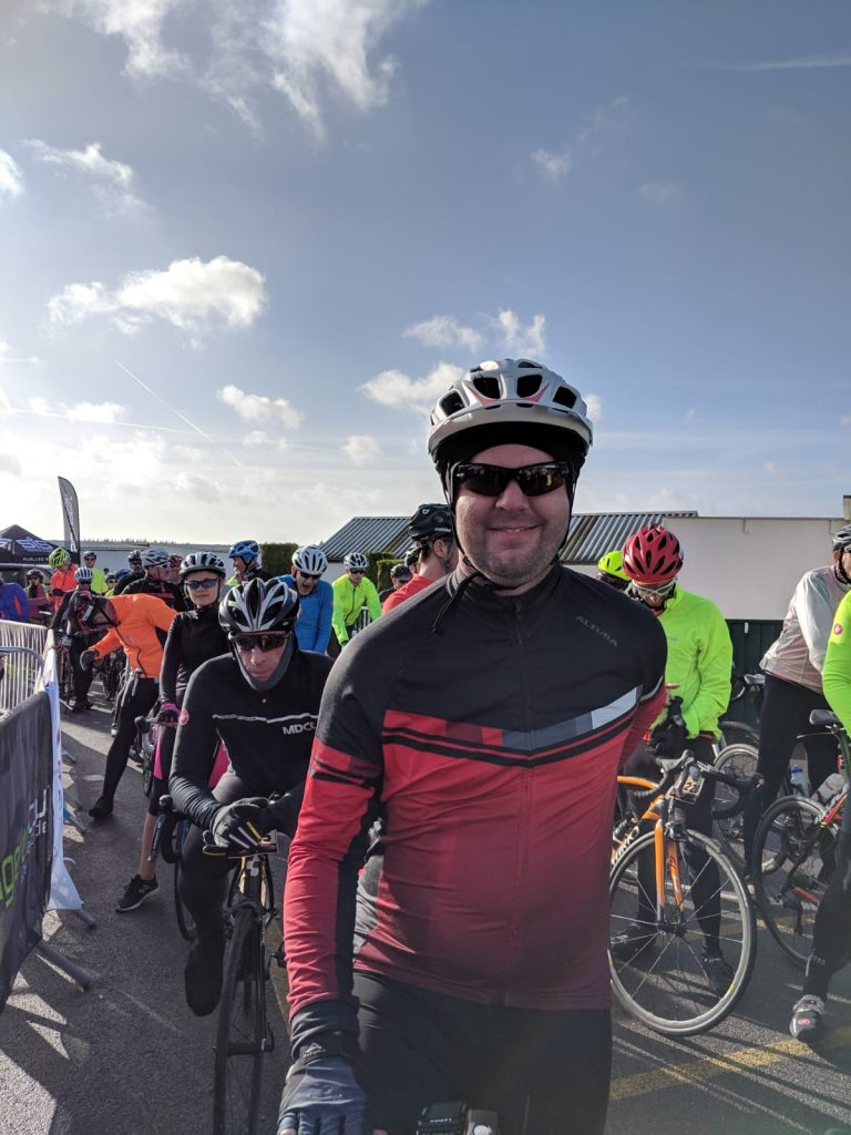 Excited to start my first sportive