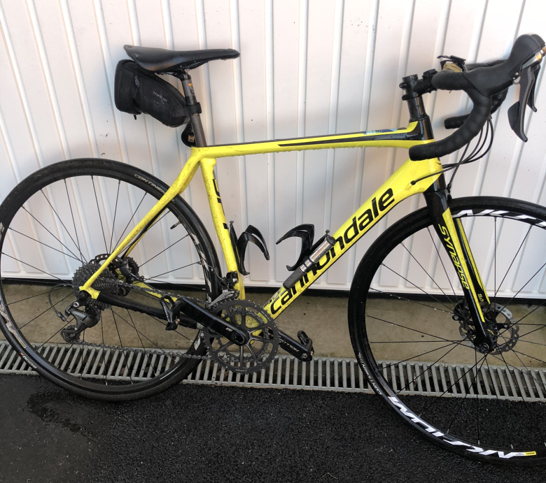 Cannondale Synapse perfect bike for sportive events